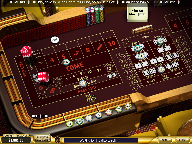screenshot 24kt Gold Casino