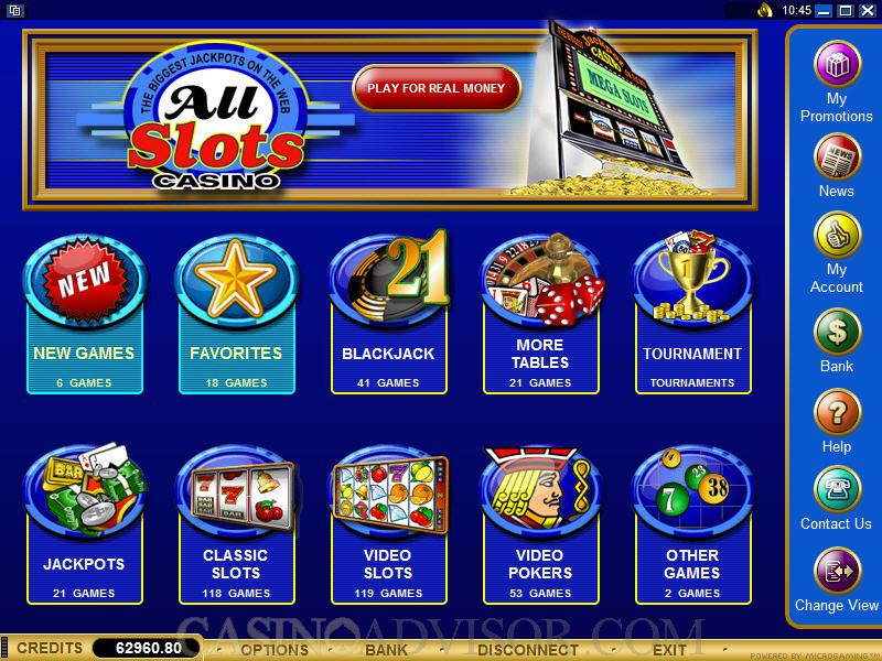 screenshot All Slots Casino