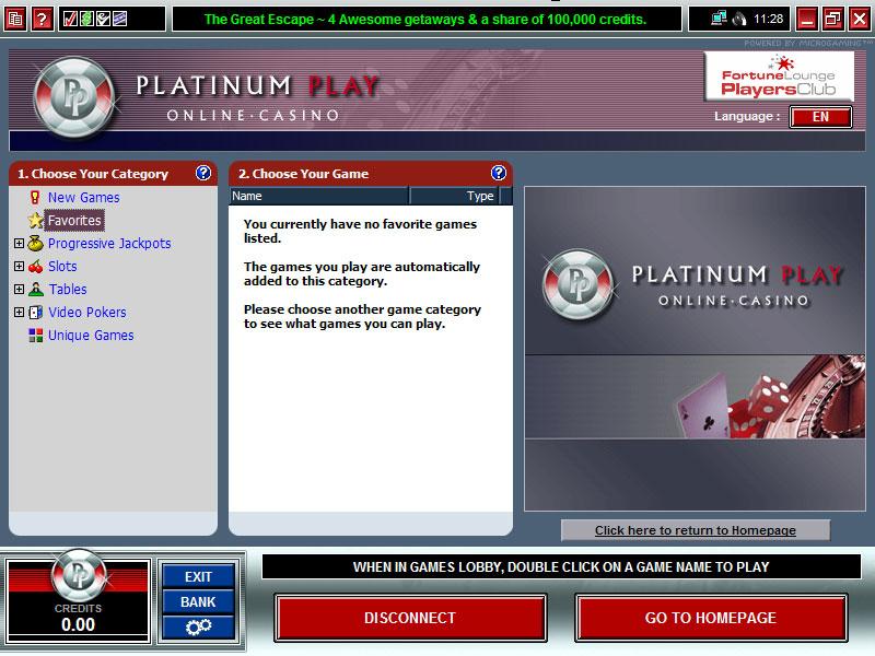 Download Platinum Play Online Casino